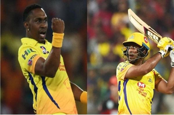 IPL 2020: चेन्नईसाठी खुशखबर...अंबाती रायडू आणि ब्राव्हो फिट, पुनरागमनासाठी सज्ज