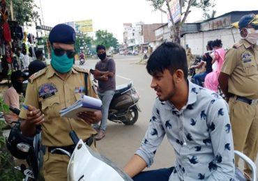 नागपुरात कोरोनाचा उद्रेक, तरीही नागरिक बेफिकीर, विनामास्क फिरणाऱ्यांकडून 27 लाख रुपयांचा दंड वसूल