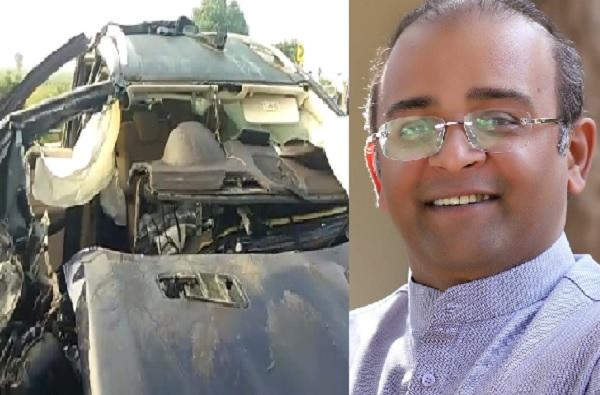 मर्सिडीजच्या इंजिनचा स्फोट, धुळ्यात नगरसेवकाचा मृत्यू