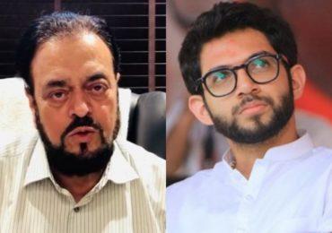 मंत्रालयात आदित्य ठाकरेंविरोधात अबू आझमींची घोषणाबाजी