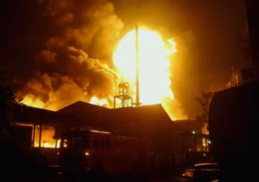 पुण्यातील शिवशक्ती ऑक्सीलेट कंपनीत भीषण आग, परिसरात खळबळ