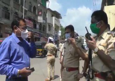 पावती बुकमुळे खोळंबा, जमत नसेल तर करु नका, पोलिसांनी पालिका अधिकाऱ्यांना खडसावलं