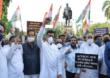 राहुल गांधींना धक्काबुक्की; मुंबईसह राज्यभरात काँग्रेसचा संताप, निदर्शने