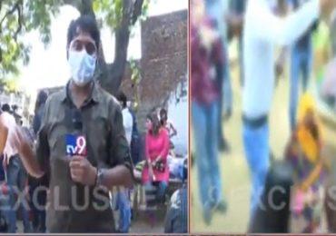 पोलिसांनी धमकावलं, पीडित कुटुंबाचा गंभीर आरोप; हाथरसमधून 'टीव्ही9 मराठी'चा एक्सक्लुझिव्ह रिपोर्ट