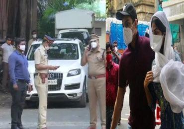 Rhea Chakraborty bail   तब्बल 28 दिवसानंतर रियाची सुटका, भायखळा तुरुंगाबाहेर पोलिसांचा बंदोबस्त!