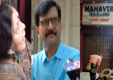 महाराष्ट्राच्या राजधानीत मराठीचा सन्मान राहिला पाहिजे, लेखिका-ज्वेलर्स वादात शिवसेनेची उडी