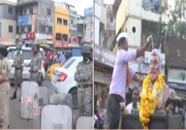 कोल्हापुरात छत्रपती शिवाजी महाराजांच्या पुतळ्याचा वाद मिटला