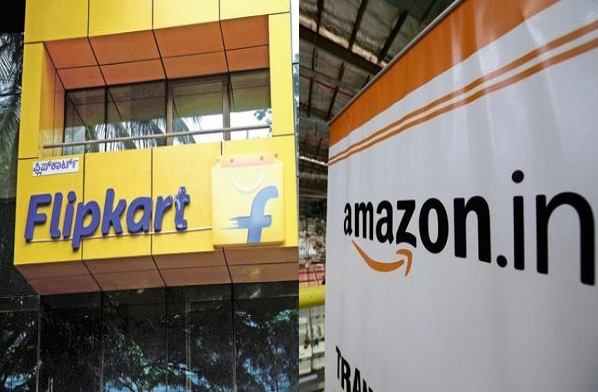 MNS Amazon And Flipkart Office