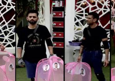 Bigg Boss 14 | 'काका पळू नका, वयाच्या दृष्टीने ठीक नाही', राहुल वैद्यचा एजाज खानला टोला!