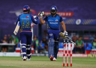 IPL 2020, MI vs KKR : मुंबई इंडियन्सचा कोलकातावर दमदार विजय, हिटमॅन रोहित म्हणाला...