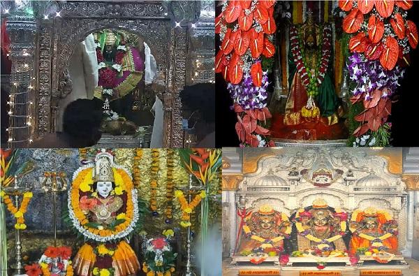 Navratri 2020 | राज्यात शारदीय नवरात्रौत्सवाला सुरुवात, मंदिर ओस, भाविकांसाठी ऑनलाईन दर्शन