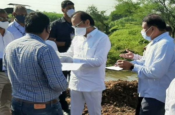 Sharad Pawar , Marathwada , heavy rain Maharashtra, Ajit Pawar, Farmers, Crops