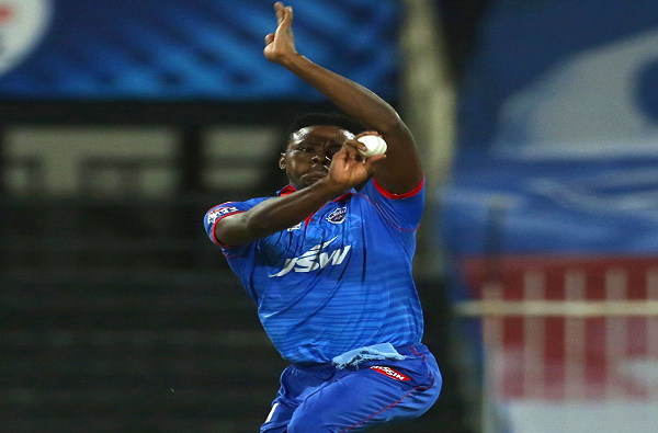 ipl 2020 delhi capitals fast bowler kagiso rabada completed 50 fastest wickets in the ipl