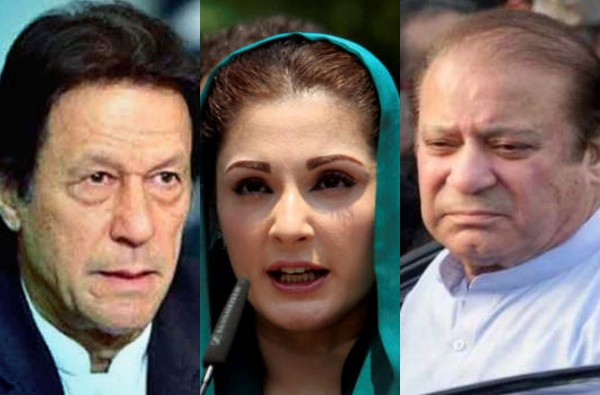 इम्रान खान यांच्या राजीनाम्याची मागणी करत आंदोलन, पाकिस्तानच्या माजी पंतप्रधानांच्या जावयाला अटक