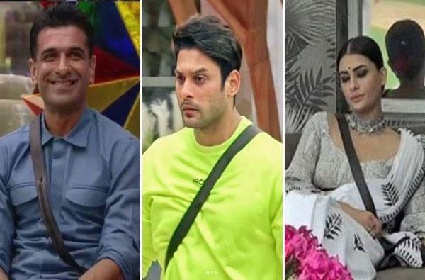 Bigg Boss 14 | सिद्धार्थ शुक्लासह पवित्रा पुनिया, एजाज खान घराबाहेर?