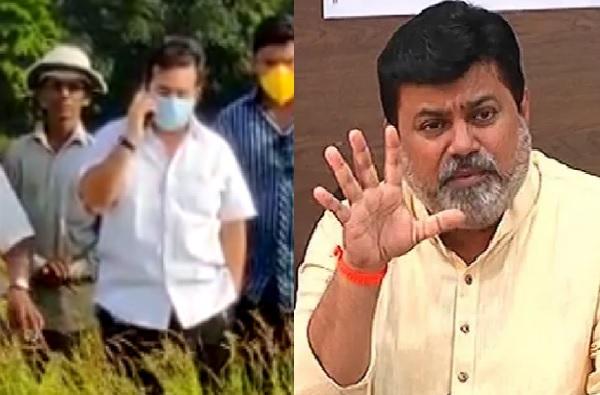 पालकमंत्री अमिताभ बच्चन आहे का? नितेश राणेंनी सरकारी अधिकाऱ्याला झाडलं, तासात न आल्यास मिरवणूक काढतो, धमकीचा व्हिडीओ व्हायरल