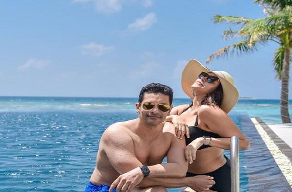 Photo : व्हॅकेशन मोड ऑन, नेहा धूपियाची मालदीव ट्रिप