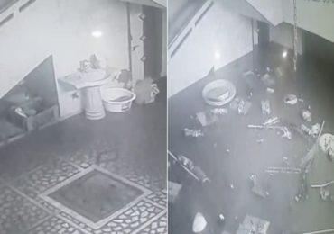 पुराचा असा प्रकोप कधीच पाहिला नसेल, दीड मिनिटांचा हा CCTV काळजाचा ठोका चुकवेल