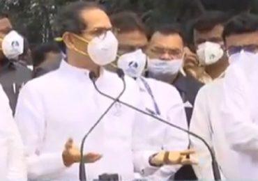 CM Uddhav Thackeray Osmanabad Visit Live   धीर सोडू नका, हे सरकार तुमचचं आहे  : उद्धव ठाकरे