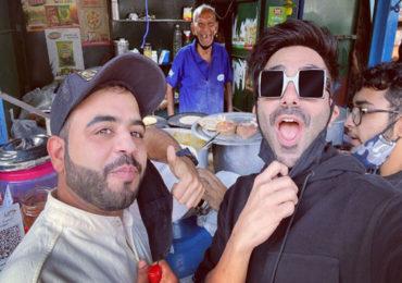 Baba Ka Dhaba | मटर पनीर खाण्यासाठी अपारशक्ती खुरानाची 'बाबा का ढाबा'ला भेट!