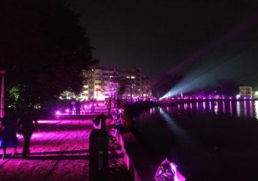 PHOTO | 'ज्योतिबाच्या नावानं चांगभलं', गुलाबी रंगात न्हाऊन निघाली कोल्हापूर नगरी!