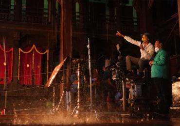 EXCLUSIVE | 'सरसेनापती हंबीरराव'च्या कलाकारांची तारेवरची कसरत, भर पावसात शूटिंग पूर्ण