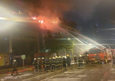 PHOTO : मुंबईतील सिटी सेंटर मॉलला भीषण आग, दुकान जळून खाक