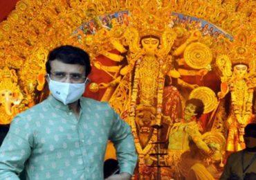 Photos: सौरव गांगुलीपासून सर्वसामान्य भक्तांपर्यंत सर्वांकडून उत्साहात दुर्गा पूजा