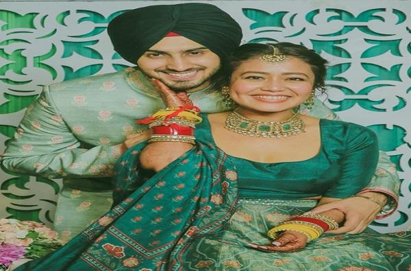 Neha Kakkar | गायिका नेहा कक्कर लग्नबंधनात, सोशल मीडियावर फोटो व्हायरल
