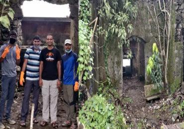 दसऱ्याचा मुहूर्त साधून गडसंवर्धनाचे काम, 'बाण हायकर्स'ची गायमुख किल्ला साफसफाई मोहीम!