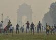 Photo | रावण दहन आणि फटाक्याच्या आतिषबाजीमुळे दिल्लीतील हवा दूषित