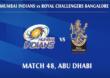 IPL 2020, MI vs RCB Live : मुंबईला चौथा धक्का, कृणाल पंड्या आऊट