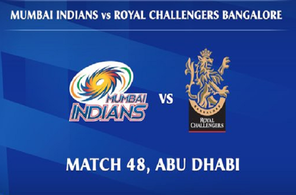 ipl 2020 mi vs rcb live score update today cricket match mumbai indians vs royal challengers bangalore live