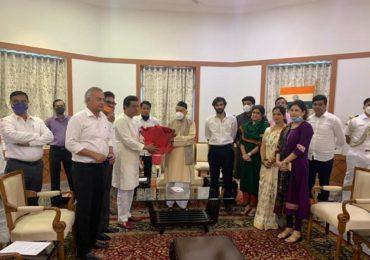 Raj Thackeray Meet Bhagat Singh Koshiyari | वाढीव वीजबिलासंदर्भात राज्यपालांशी चर्चा, वेळ पडली तर मुख्यमंत्र्यांनाही भेटेन : राज ठाकरे