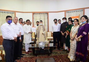 PHOTO : राज ठाकरे पहिल्यांदाच राजभवनावर, राज्यपाल कोश्यारींसोबत विविध मुद्द्यांवर चर्चा