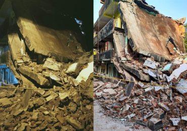 डोंबिवलीत पहाटे अचानक जाग आलेल्या तरुणामुळे मोठी दुर्घटना टळली, कोसळणाऱ्या इमारतीतून 14 कुटुंबांना वाचवलं