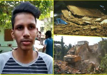 PHOTO | डोंबिवलीत पहाटे इमारत कोसळली, तरुणाच्या सतर्कतेमुळे 14 कुटुंबांचा जीव वाचला