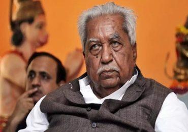 Keshubhai Patel | गुजरातचे माजी मुख्यमंत्री केशुभाई पटेल यांचे निधन