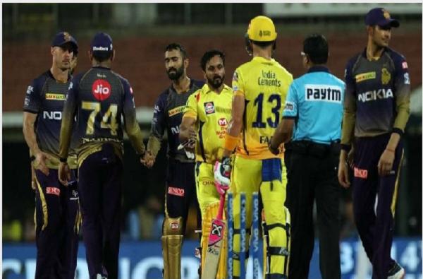 IPL 2020, KKR vs CSK : अटीतटीच्या सामन्यात चेन्नईची कोलकातावर 6 विकेट्सने  मात