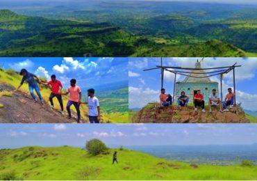Photos | संगमनेरमधील हरिश्चंद्र बालाघाट रांगेतील रुबाबदार आणि आखीवरेखीव 'ढुम्या डोंगर'