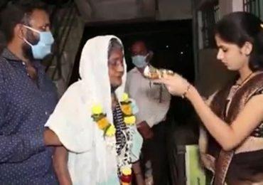 71 वर्षीय आजीबाईंची तब्बल 50 दिवसांच्या उपचारानंतर कोरोनावर मात, 'घाटी' रुग्णालयातील डॉक्टरांच्या प्रयत्नांना यश