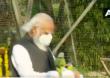 PHOTO: पंतप्रधान मोदी पक्ष्यांच्या सानिध्यात रमतात तेव्हा…