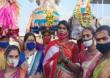 कोरोनाचे नियम पाळून तृतीयपंथीयांकडून छबिना उत्सव साजरा, मंदिरं खुली करण्याची तृतीयपंथीयांची मागणी