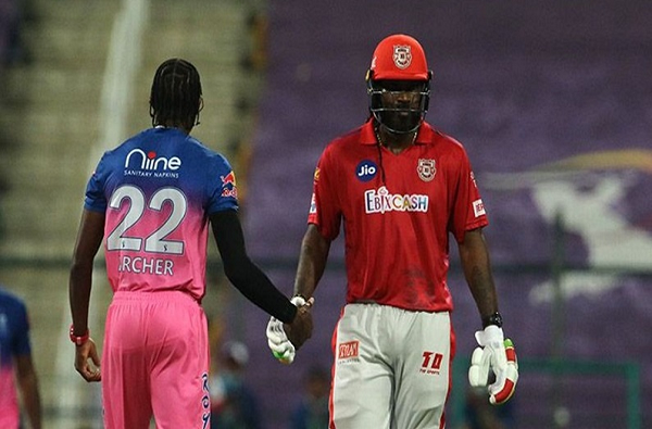 IPL 2020 KXIP vs RR Universe Boss Chris Gayle Fined For Throwing a Bat In Anger