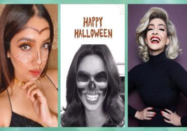 PHOTO | तुम्ही यांना ओळखलं का? बॉलिवूड अभिनेत्रींचे खास 'हॅलोवीन' लूक!