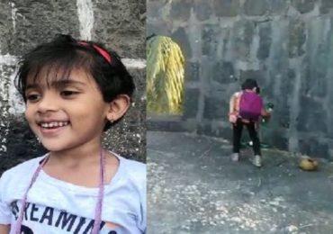 PHOTO : चार वर्षाच्या मुलीकडून अर्नाळा किल्ल्याची स्वच्छता, समाजासाठी नवा आदर्श