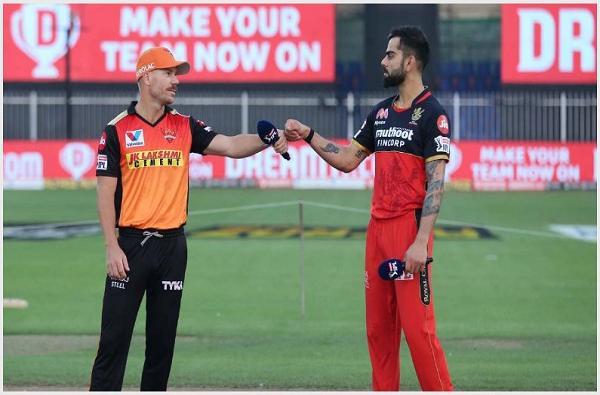 ipl 2020 Eliminator srh vs rcb live score update today cricket match sunrisers hyderabad vs royal challengers bangalore