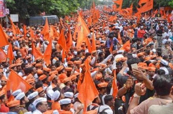 Maratha kranti Morcha Mashal Rath yatra on 28th November Aurangabad to Azad Maidan