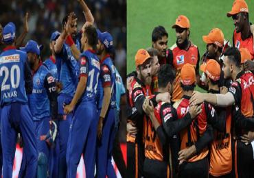 Photo   IPL 2020 दिल्ली विरुद्ध हैदराबाद आमनेसामने, फायनलचं तिकीट कोण मिळवणार?