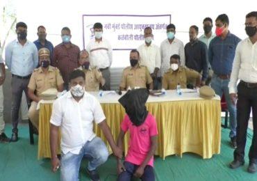दिवाळीसाठी आलेल्या पाहुण्याची हजार रुपयांसाठी हत्या, चोरट्याला अटक